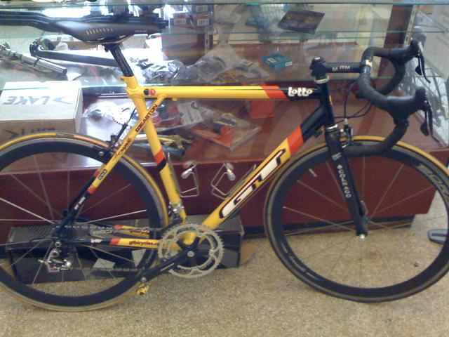 GT Lotto Bike TDF Value Interest Classifieds Slowtwitch Forums